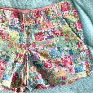 Lilly Pulitzer Colorful States Shorts USA